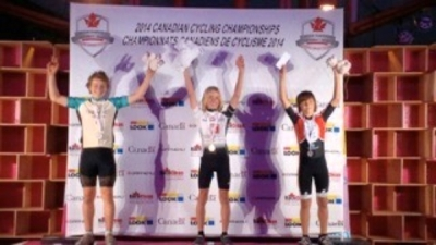 Riley on podium
