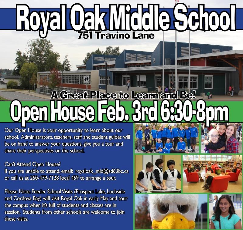 Royal Oak: ROMS Open House February 3 - 6:30 to 8 pm
